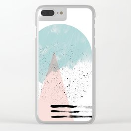 second summer Clear iPhone Case
