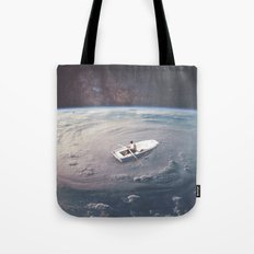 Rowing the Cosmos Tote Bag