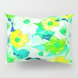 Elegant watercolor floral texture Pillow Sham