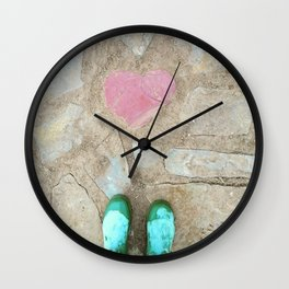Path of Least Resistance Wall Clock