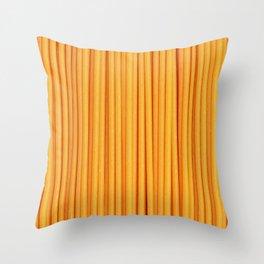 Spaghetti, pasta texture Throw Pillow