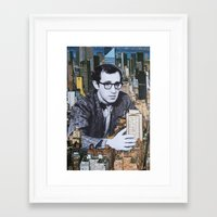 manhattan Framed Art Prints featuring Manhattan by John Turck