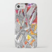 blueprint iPhone & iPod Cases featuring Blueprint - multi by Etch by Design
