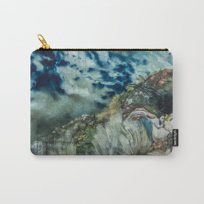 Leda and the Swan? Carry-All Pouch