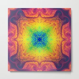 Psychedelic Two Metal Print