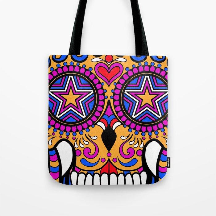 Sugar Skull #1 Tote Bag