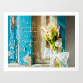 Calla Welcome* Art Print