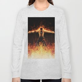 Fire Ace Long Sleeve T-shirt