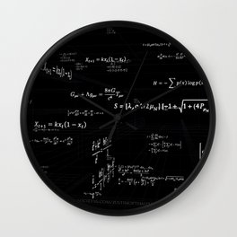 Mathspace - High Math Inspiration Wall Clock