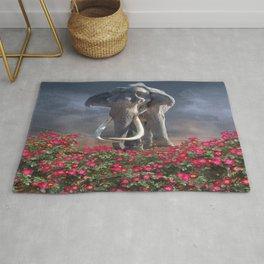 Mighty Mammoth Wild Rose Rug