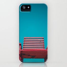 Red Chair in the Sky iPhone Case