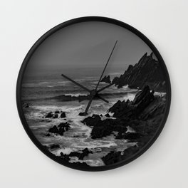 Rocky Coast of Ireland Wall Clock
