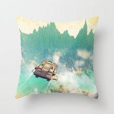 Küruma Throw Pillow