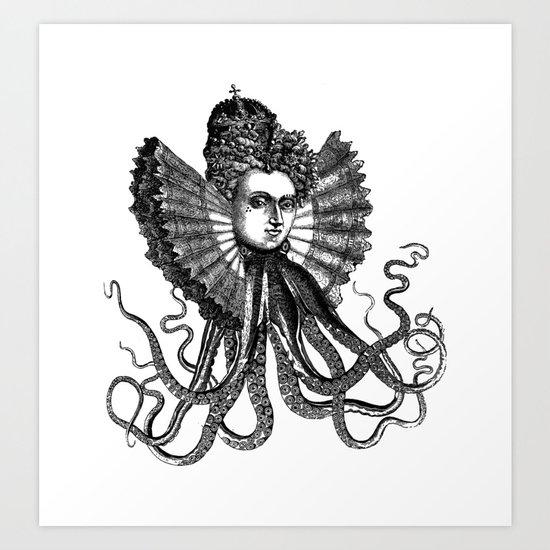 Killa' Queen Art Print