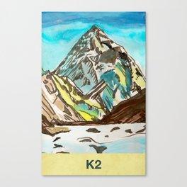 K2 Canvas Print
