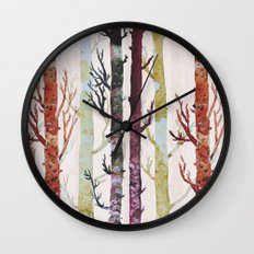 the real florest Wall Clock