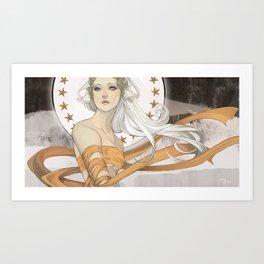 Artemis II Art Print