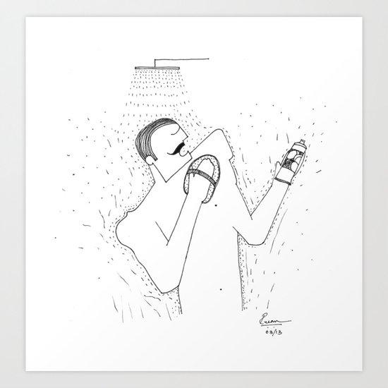 Exfoliate Art Print