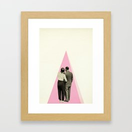 It's Just You and Me, Baby Framed Art Print