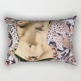 Feline fatale Rectangular Pillow