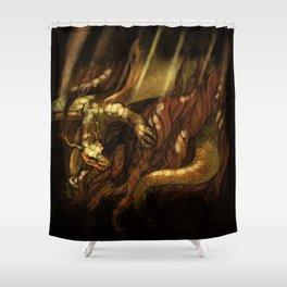 Nidhogg Shower Curtain
