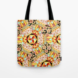 Gypsy Patchwork (printed) Tote Bag