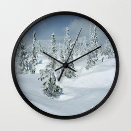 Winter day 24 Wall Clock