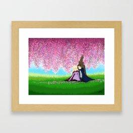 Sophie and Fitz Framed Art Print