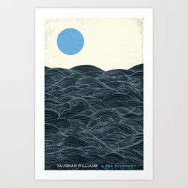 A Sea Symphony - Vaughan Williams Art Print