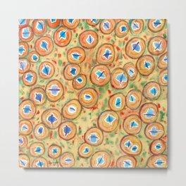 Marvelous Galaxies Pattern Metal Print