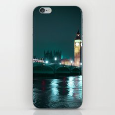 Big Ben and Houses of Parliament, Aquamarine iPhone & iPod Skin