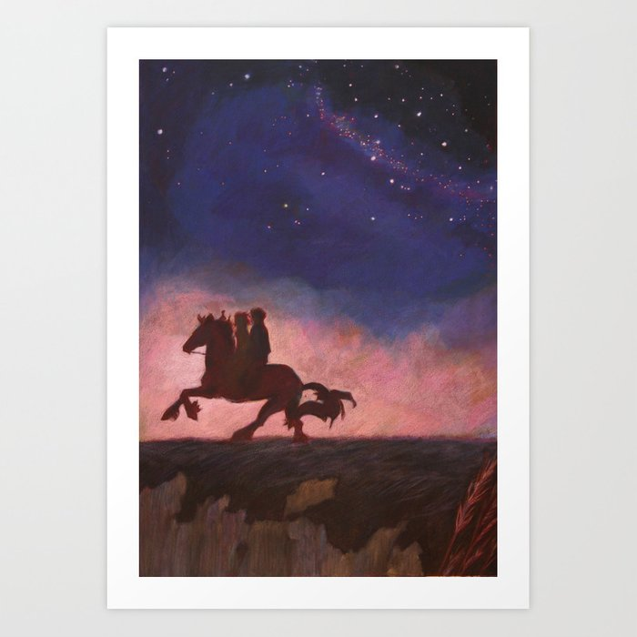 The Scorpio Races Kunstdrucke