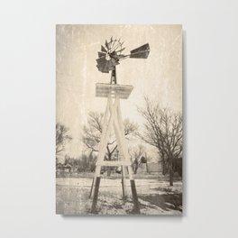 Demster Windmill Metal Print