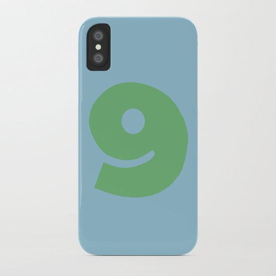 Number 9 iPhone Case