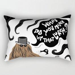 Cousin Itt (Addams Family) Rectangular Pillow