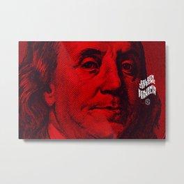 Benjamin Dark (red) Metal Print