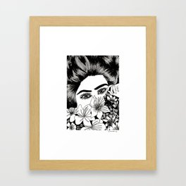 I'm gonna miss you in my dreams. Framed Art Print