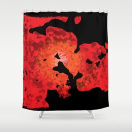 Abstraction 1 Shower Curtain
