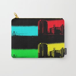 Miami Popart Panorama Carry-All Pouch