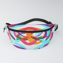 Abstract colorful Fanny Pack