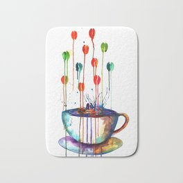 Coffee Splash Bath Mat