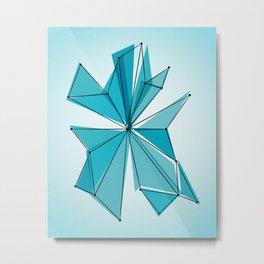 Origami 28 Metal Print