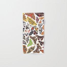 Saturniid Moths of North America Hand & Bath Towel