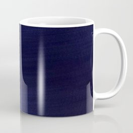 Dark Navy  Smooth Silk Coffee Mug