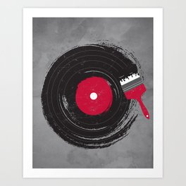 Art of Music Art Print
