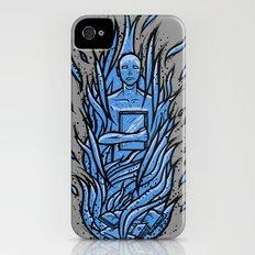 fahrenheit 451 - bradbury blue variant iPhone (4, 4s) Slim Case