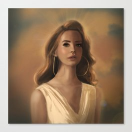 Godess Canvas Print