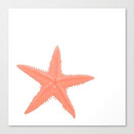 Coral Starfish Canvas Print