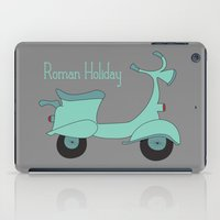 roman iPad Cases featuring Roman Holiday by Halamo Designs