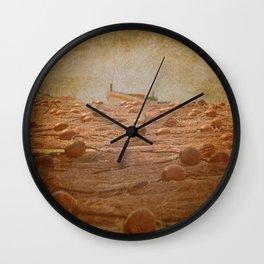 vintage fish nets Wall Clock